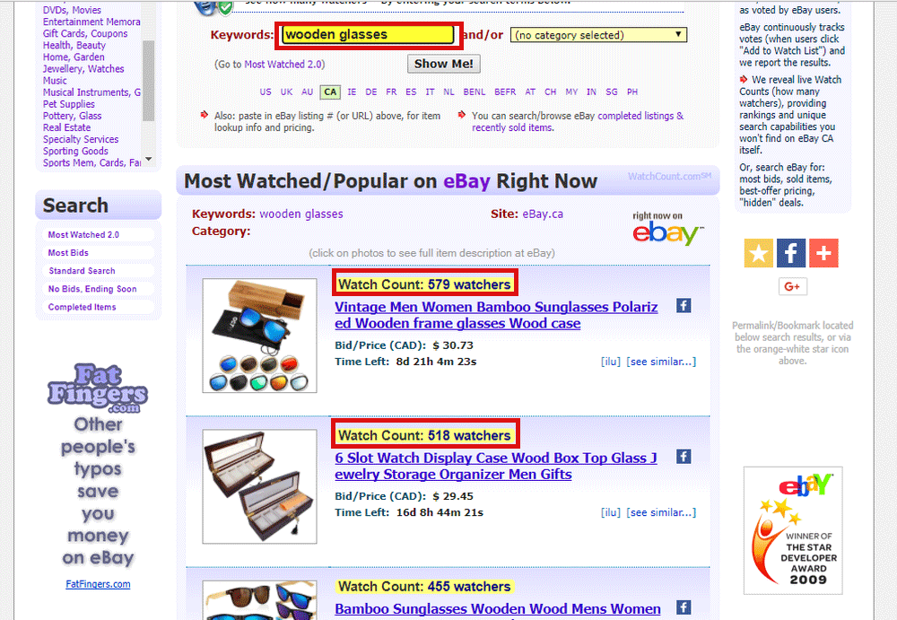 Ebay Product Research for Shopify